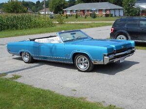 1970 Mercury convertable