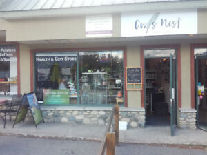 Natural Health & Gift Store FOR SALE in Pemberton!!