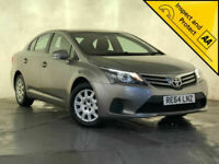 2014 TOYOTA AVENSIS ACTIVE D-4D AIR CONDITIONING CD PLAYER 1 OWNER SVC HISTORY