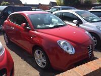 ALFA ROMEO MITO 1.4 TB 155 LUSSO 2010 Petrol Manual in Red