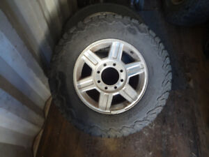 17 inch rim and tires off of 2012 Dodge