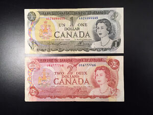 2 NEAR SOLID !!, Canada Banknotes / Paper Money, VERY RARE !!
