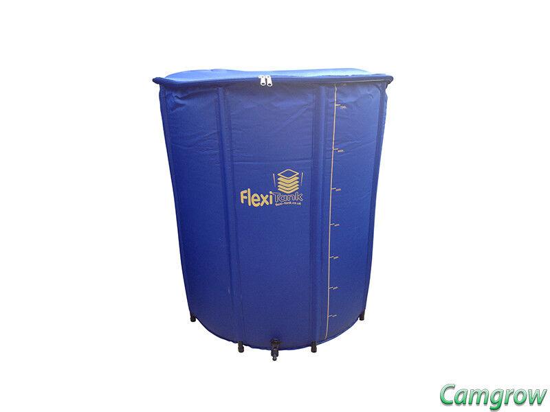 Butt Water Storage Hydroponics Flexi Tank 225L  Plain