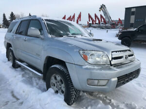 2004 Toyota 4 Runner Limited Salvage Title ..
