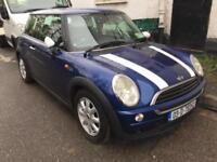 Mini One 1.4 diesel blue with white roof 2003 irish registered with all document