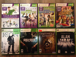 Xbox 360 games - game details in two photos, thank you