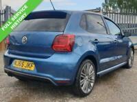 2015 Volkswagen Polo 1.4 BLUEGT 5d 148 BHP Hatchback Petrol Manual