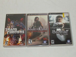 PSP DS PS2 and 3 Games