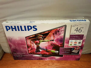 "46"" Philips LED TV and Sound Bar Oakville / Halton Region Toronto (GTA) image 1"