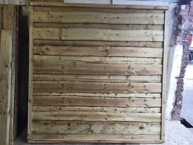 🛠Timber Wayneylap Fence Panels * New * 🔝 Quality