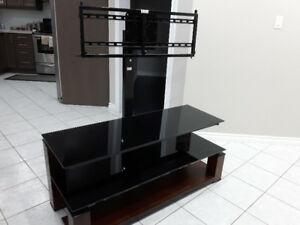 TV entertainment stand - floating glass