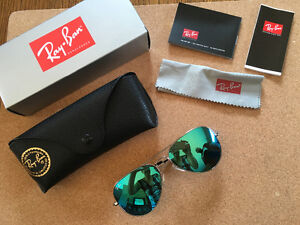 Ray-ban aviator 3025 (58mm) sunglasses NEW
