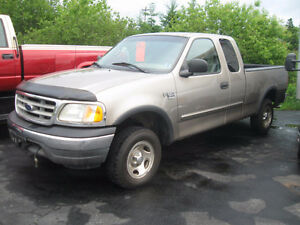 2002 Ford F150 XL, Ext Cab, 4x4.  Trades Welcome.