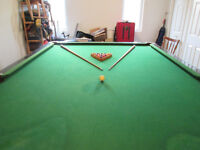 6 by 12 slate billiard table