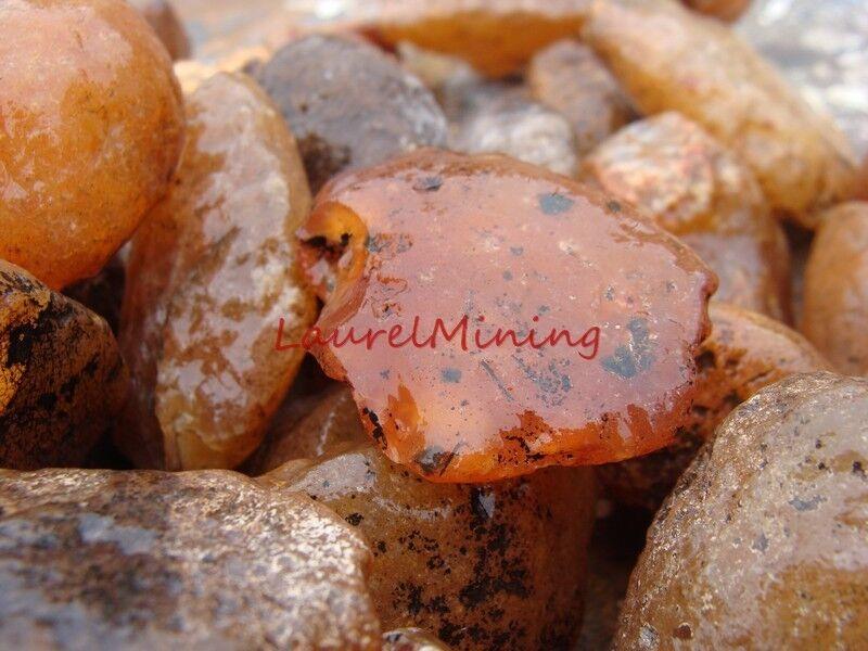 Natural CARNELIAN Rough - 3000 CARAT Lots - Raw Gemstone Rough, Rocks, Stones