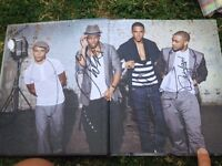 JLS just between us our private diary- SIGNED!!