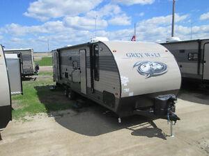 2018 Cherokee Grey Wolf Limited 26DBH Camper, Sleeps 8-10