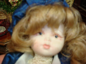 Reduced Price: Beautiful Iconic Capodimonte Porcelain Doll