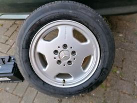 Mercedes monoblock AMG alloy Genuine