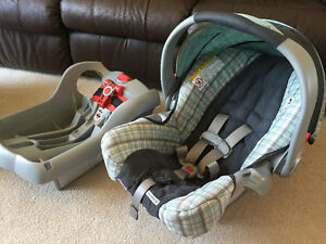 Graco SnugRide35 car seat and base