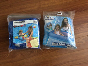 Inflatable water ride ons