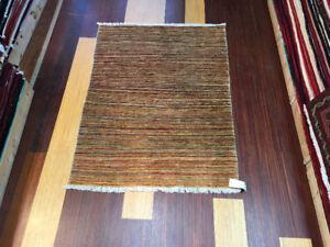 Handmade Persian Choby carpet: 3.5x5.5