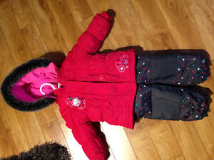 Snowsuit for girl - 12 months