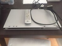 LG DVD player with remote and scart lead
