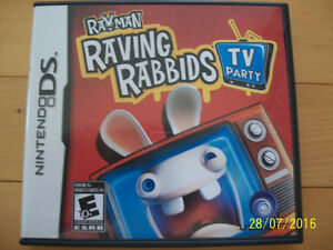 Rayman Raving Rabbids TV Party for Sale (DS Game)