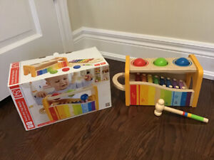 Hape wooden toddler toy $12
