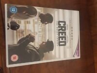 Creed DVD as new