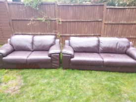 Sofas 3 and 2 seater