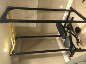 Northern Lights power rack, full cage WITH EQUIPMENT