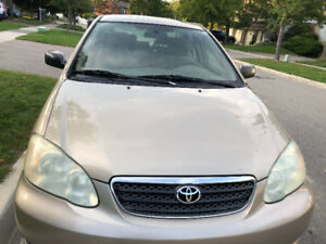 Toyota Corolla 2005 CE for sale!!! LOW MILEAGE!!! 138 k only!!!!
