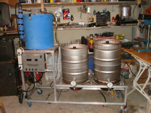Brew System - 15 gal, 2 tier, RIMS  with Compubrew control panel
