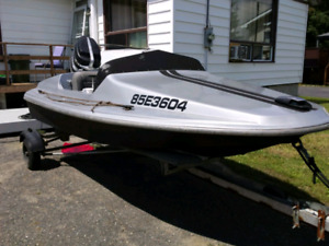 10ft speed boat 65hp mercury