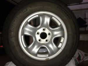 Honda CRV used Michelin winter tires and Rims