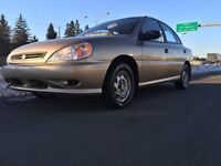 2003 KIA RIO ONLY 80000KMS LIKE NEW ONE OWNER