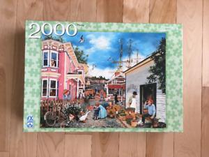 Casse-têtes / Puzzles (7), 2000 pièces
