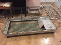 Extra Large Ferplast Krolik Indoor Rabbit Guinea Pig Cage Hutch Used