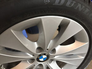 Winter tires on factory BMW rims