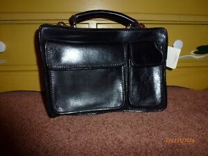 Leather Purse, New, Black