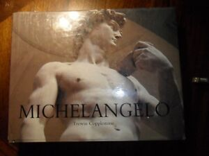 New Large Hardcover Michelangelo