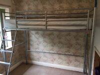 Single loft/ raised bed