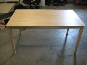 Birch table   31x 55