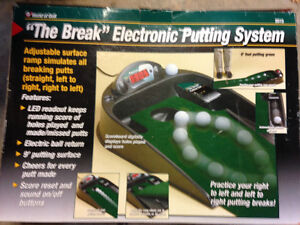 Full Golf set, golf shoes and putting system