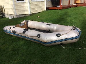 Quick Silver 10' inflatable boat