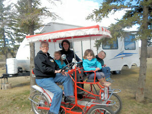FOR SALE, Four Wheel Surrey Quadricycle Bike
