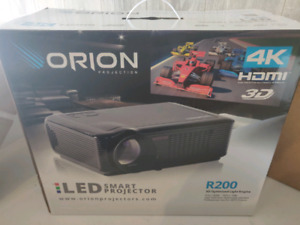 Orion Projector and screen BNIB