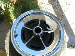 15 inch classic Buick rally rim, chromed